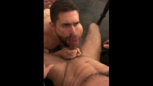 Gabriel Cross and Griffin Barrows Tagteam Gianni Maggio's Huge Cock