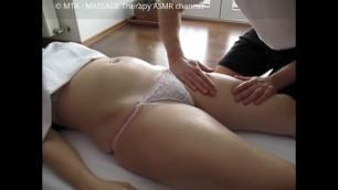 Oil Massage Chubby Belly Asmr