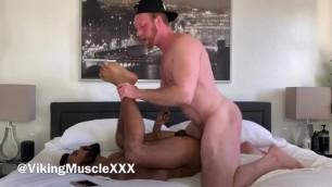 Viking Muscle Drills Hairy, sub Arab Bottom - OnlyFans/VikingMuscle