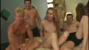 Blonde tranny banged hard